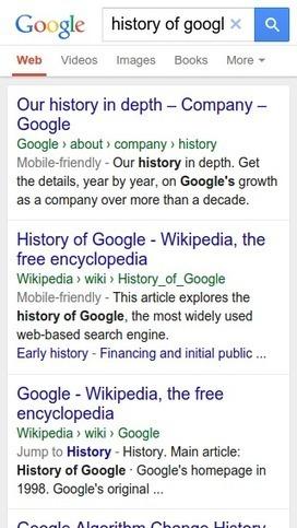 Les fils d'Ariane remplacent les URL sur Google mobile | SEO, SMO, SEM | Scoop.it