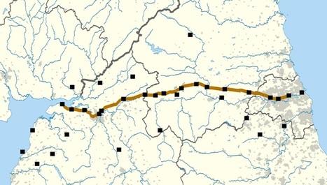 Roman Forts around Hadrian's Wall – Interactive Map | La Revue Antique | Scoop.it