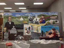 Local Artists Create Mural at Maynardville Middle School Library | Tennessee Libraries | Scoop.it