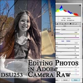 Blog post: Editing Photos in Adobe Camera Raw - Digital Scrapbook ... | digital scrapbooking | Scoop.it