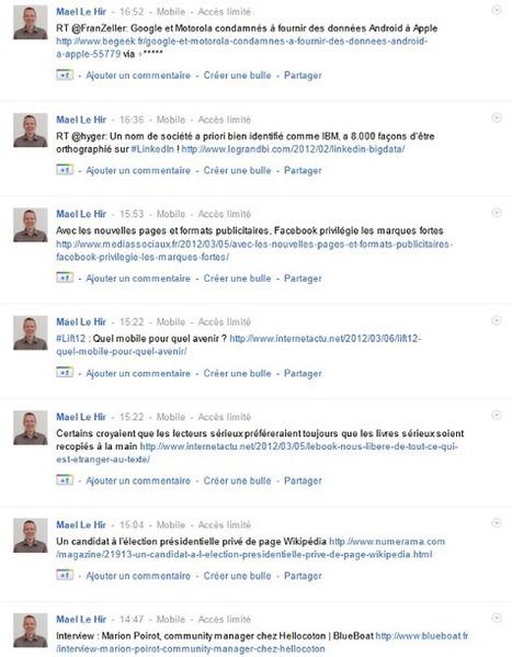 TwooglePlus : alimenter son compte Google+ grâce à Twitter | La veille de generation en action sur la communication et le web 2.0 | Scoop.it