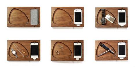 Timber Tray Docking Station   Art, Design & Technology   Scoop.it