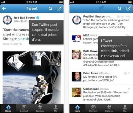 Twitter si aggiorna con un nuovo design - iPhoneItalia - Il blog italiano sull'Apple iPhone | Nico Social News | Scoop.it