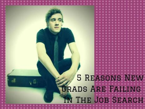5 Reasons Grads Are Failing in the Job Search | career | Scoop.it
