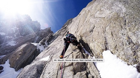 Mt. Maudit new mixed climb by Matt Helliker and Jon Bracey | Neige et Granite | Scoop.it