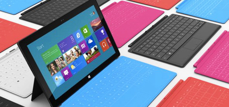FIRST PHOTOS: Here's Microsoft's New Tablet 'Surface' | TheBottomlineNow | Scoop.it