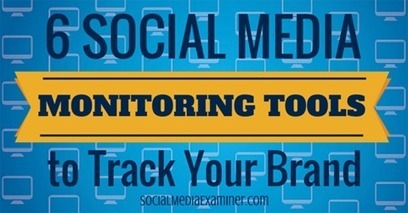 6 Social Media Monitoring Tools to Track Your Brand | Surviving Social Chaos | Scoop.it