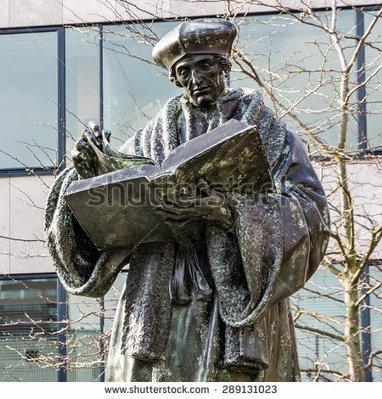 Monument to Erasmus of Rotterdam, Netherlands (Desiderius Erasmus Roterodamus) | Eminent Men | Scoop.it