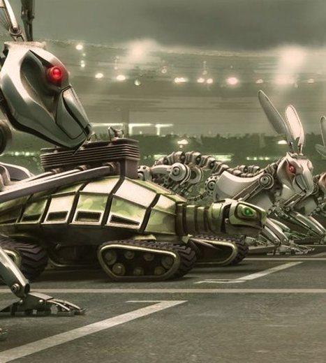 Toulouse organise  le premier 110 mètres robots | Une nouvelle civilisation de Robots | Scoop.it