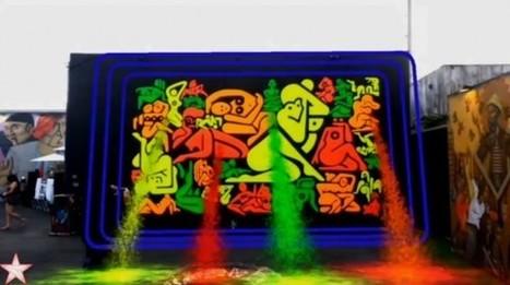 Realidad aumentada en el arte callejero | arte callejero | Scoop.it