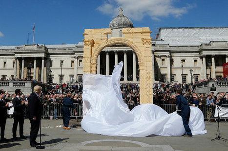 Replica of Palmyra Arch Is Unveiled in Trafalgar Square | The New York Times | Kiosque du monde : A la une | Scoop.it