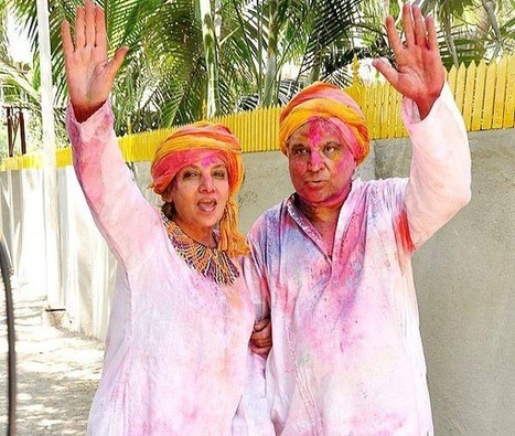 Celebrate Holi in Bollywood Style this year! | Glamour World! | Scoop.it