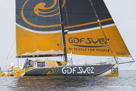 Class 40 : GDF SUEZ, Grand vainqueur de la Normandy Channel Race! - Nautisme info | Nautisme | Scoop.it