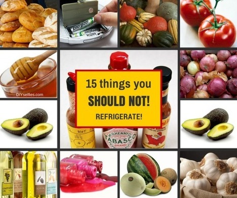 15 Things You Should Not Refrigerate | Fun DIY Creative Ideas and Crafts | Scoop.it