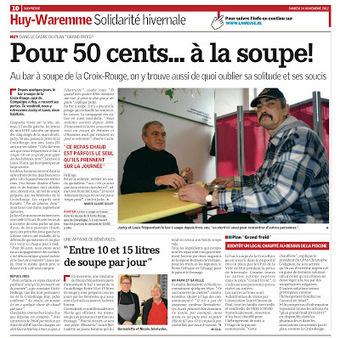 Christophe Collignon: Le CPAS de Huy active son «plan grand froid ... | Centre Public d'Action Sociale | Scoop.it