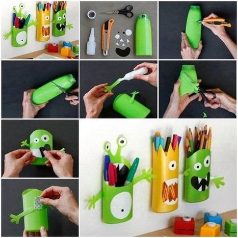 Decoración y reciclado con envases... | Con tus propias manos - Lola | Scoop.it