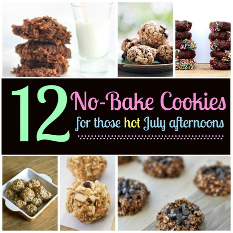 12 No-Bake Cookies for Hot July Afternoons - Babble | Easy-to-do recipes | Scoop.it