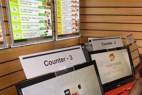 Un restaurant automatique en Inde | Evolution des usages par les nouvelles technologies | Scoop.it