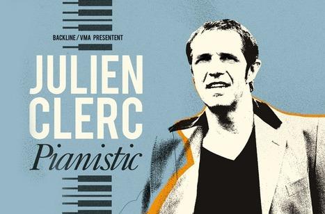 """16 JUIN - Julien Clerc """"Récital à 2 pianos"""" à l'Amphithéâtre de Rodez   Infos tourisme en Aveyron   Scoop.it"""