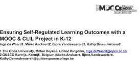 @Ignatia Webs: Self-regulated learning for measuring motivation & self-esteem in #MOOC #motivation #SRL | Ontwerpen en begeleiden van afstandsonderwijs | Scoop.it