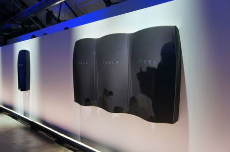 Everything You Need to Know About Tesla's New Household Batteries | Objets connectés & robotique | Scoop.it