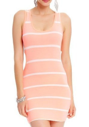 2B Lily Striped Cut-out Dress | Summer Dresses | Scoop.it