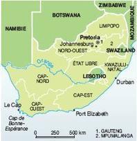 Afrique du Sud : quand la carte fait son histoire - Visionscarto | L'Afrique australe (Afrique du Sud, Namibie, Botswana, Lesotho-Swaziland, Zimbabwe, Mozambique) | Scoop.it