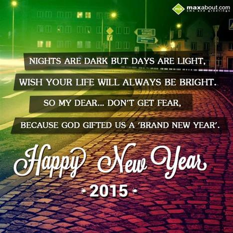 New Year SMS, New Year Messages, New Year 2015 | Maxabout SMS & Greetings | Scoop.it