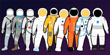 The evolution of the US space suit over the last 5 decades | Navigate | Scoop.it