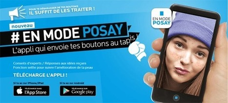 En mode Posay : application pour ados acnéiques | Buzz e-sante | Scoop.it