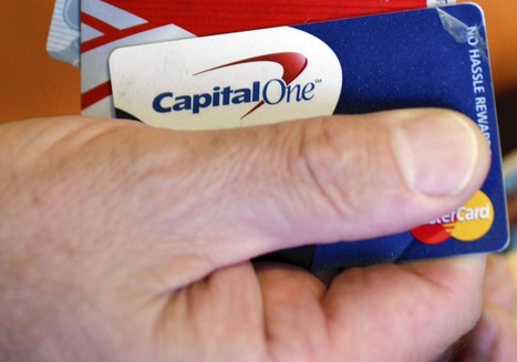 Capital One says it can show up at cardholders' homes, workplaces | Shelly's Interests | Scoop.it