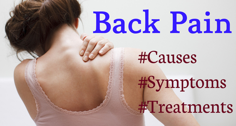 Back Pain: Causes, Symptoms and Treatments | Health | Scoop.it