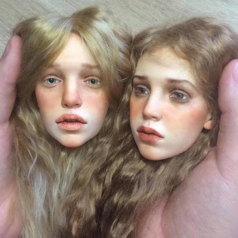 Russian Artist Creates Insanely Realistic Doll Faces That'll Make You Go Wow | Xposed | Scoop.it