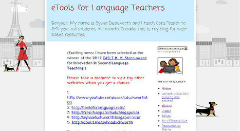 Language Teacher's Toolbox: Sylvia Duckworth's eTools for Language Teachers blog | MFL 2.0 | Scoop.it