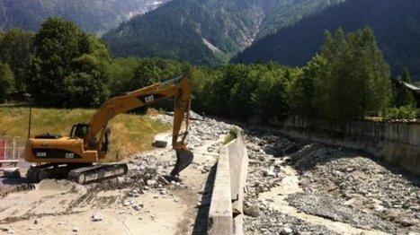 Aux Houches, le torrent de la Griaz sous surveillance   Montagne - Risques et vulnérabilités   Scoop.it