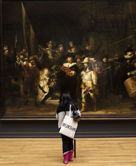 VIDEO: Flash mob recreates Rembrandt's 'The Night Watch' for museum reopening - The World Daily | Jaguar Films | Scoop.it
