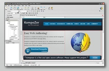 KompoZer - Easy web authoring | elearning | Scoop.it