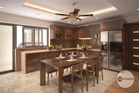 Ý tưởng mới trong thiết kế nội thất phòng bếp hiện đại | Thiet ke noi that chung cu Royal City | Scoop.it