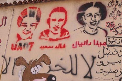 Les murs du Caire redessinent la révolution | Égypt-actus | Scoop.it