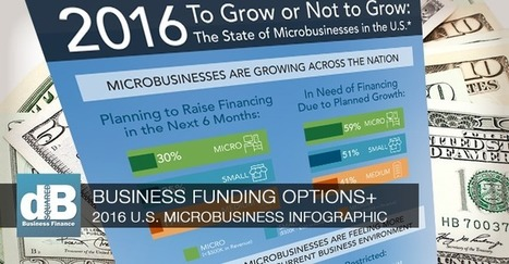 Business Funding Options – Microbusinesses in the US Infographic | Restaurant Marketing Ideas | Scoop.it