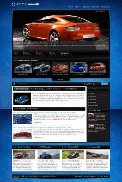 Emma Smooth WordPress Car Dealer Theme | hi ist a | Scoop.it