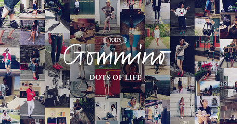 "Tod's Gommino ""dots of Life"" 
