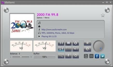 Meltemi, 'software' musical libre con más de 800 emisoras de radio | mi primer Topic | Scoop.it