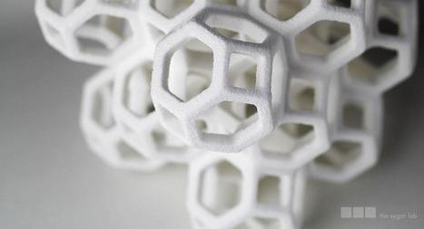 3D-Printed Sugar Sculptures Too Sweet to Eat [PICS] | Design & Digital Fabrication & Makers | Scoop.it