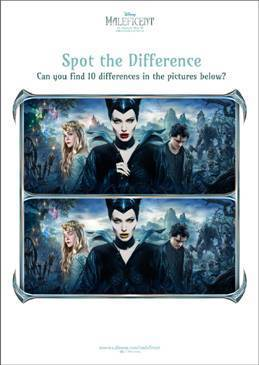 Maleficent Activity Sheets #MaleficentEvent - FSM Blogs | Disney News | Scoop.it