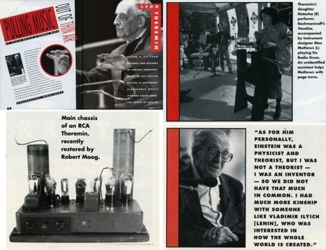 Read the article Bob Moog wrote when he met Leon Theremin - Create Digital Music | Music Tech Medley | Scoop.it