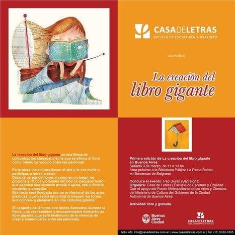 9 de marzo, de 11 a 13 hs. en Barrancas de Belgrano:  creación del libro gigante | Bibliotecas Escolares Argentinas | Scoop.it