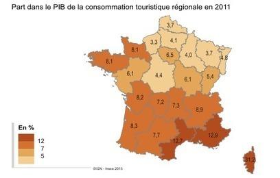 En Bretagne, la dépense touristique s'élève à 6,6 milliards d'euros en 2011 - INSEE N°25 juillet 2015 | ACTUALITES GEOGRAPHIQUES DE LA BRETAGNE | Scoop.it
