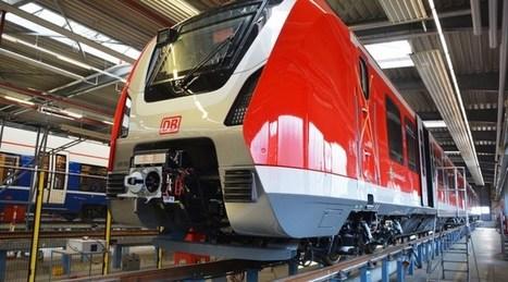 Bombardier reveals completed Hamburg S-Bahn trains   Global railway news   Scoop.it