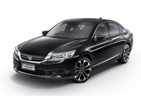 Thaiscooter.com - New Honda Accord Hybrid 2014 | thaiscooter | Scoop.it